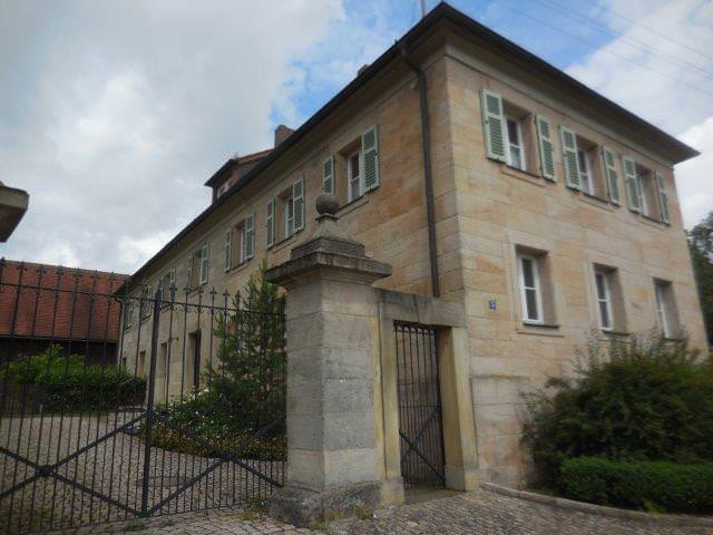 Pfarrhaus Ansicht Eingang
